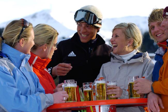 Ein gebührendes Après-Ski gehört nun einmal dazu!