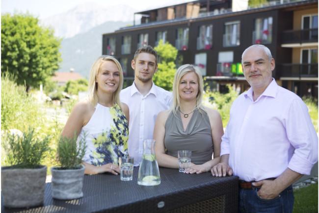 Die Familie Riedlsperger vom Ritzenhof in Saalfelden.