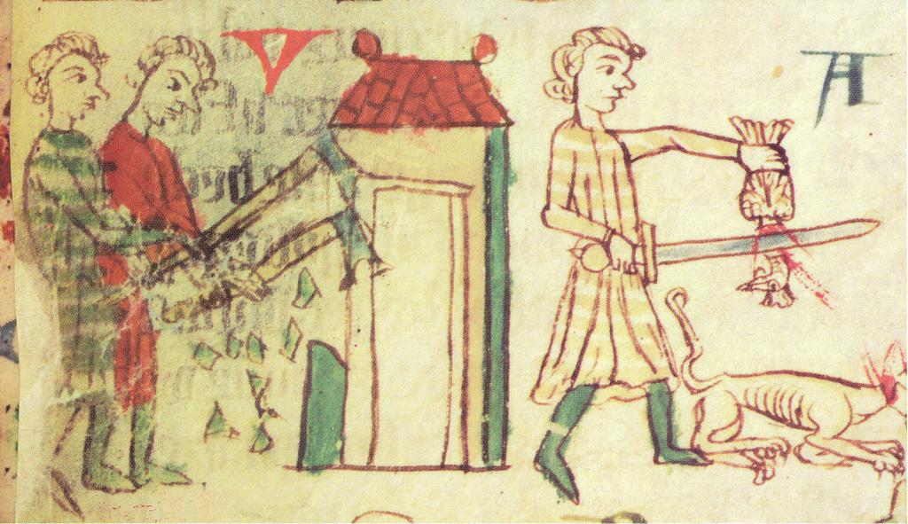 Zeichenkunst aus dem Mittelalter