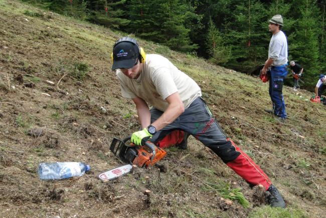 Gemeinsam mit 36 Freiwilligen aus dem Dorf sorgte Ingo Dürlinger und sein Team für eine perfekte Abfahrt.
