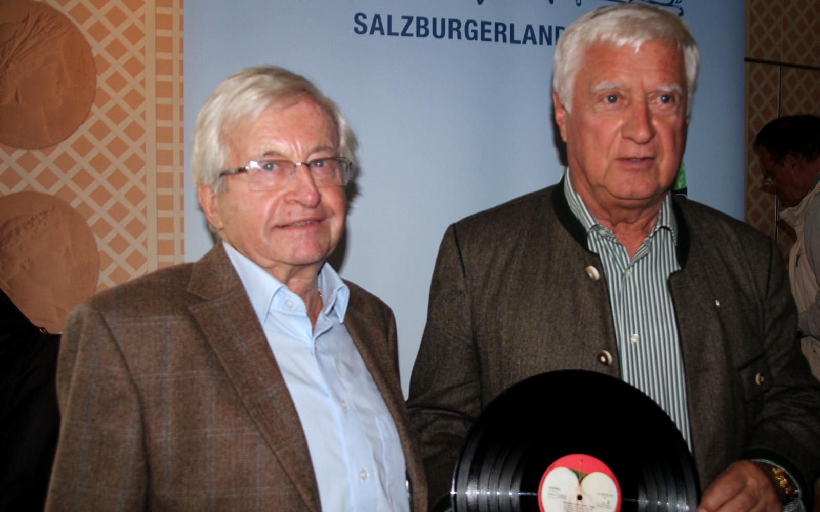 Herbert Lürzer und Gerhard Krings