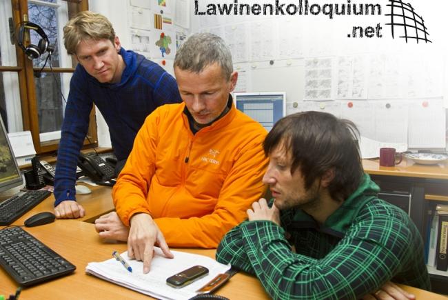 Lawinenkolloquium Team