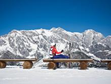 Grandioser Logenplatz mit königlicher Aussicht: Skifahren vor der Kulisse des Hochkönigs