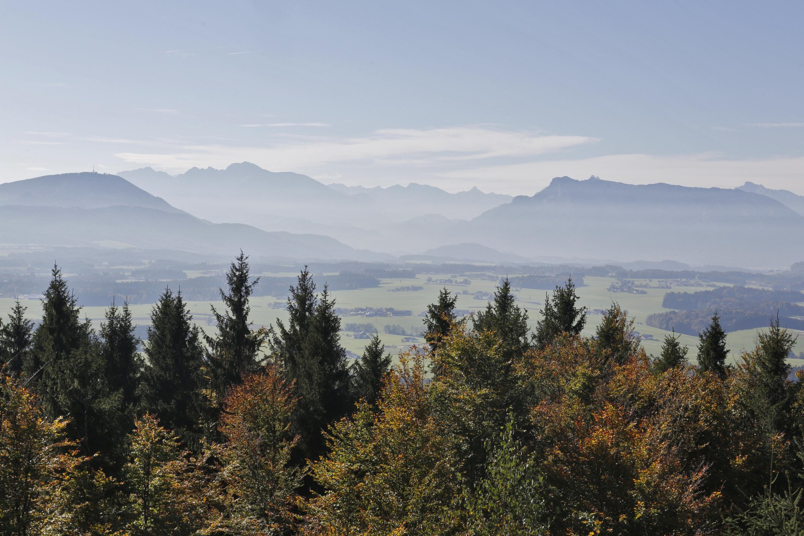 Blick in´s Gebirge.