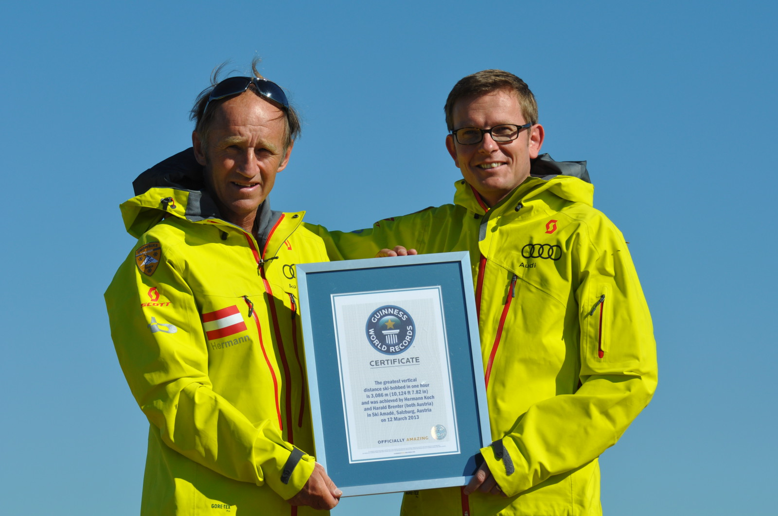 Weltrekord - geschafft!