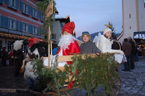 Kinder als Nikolaus,
