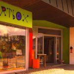 Die Artbox im Zentrum von Saalfelden.