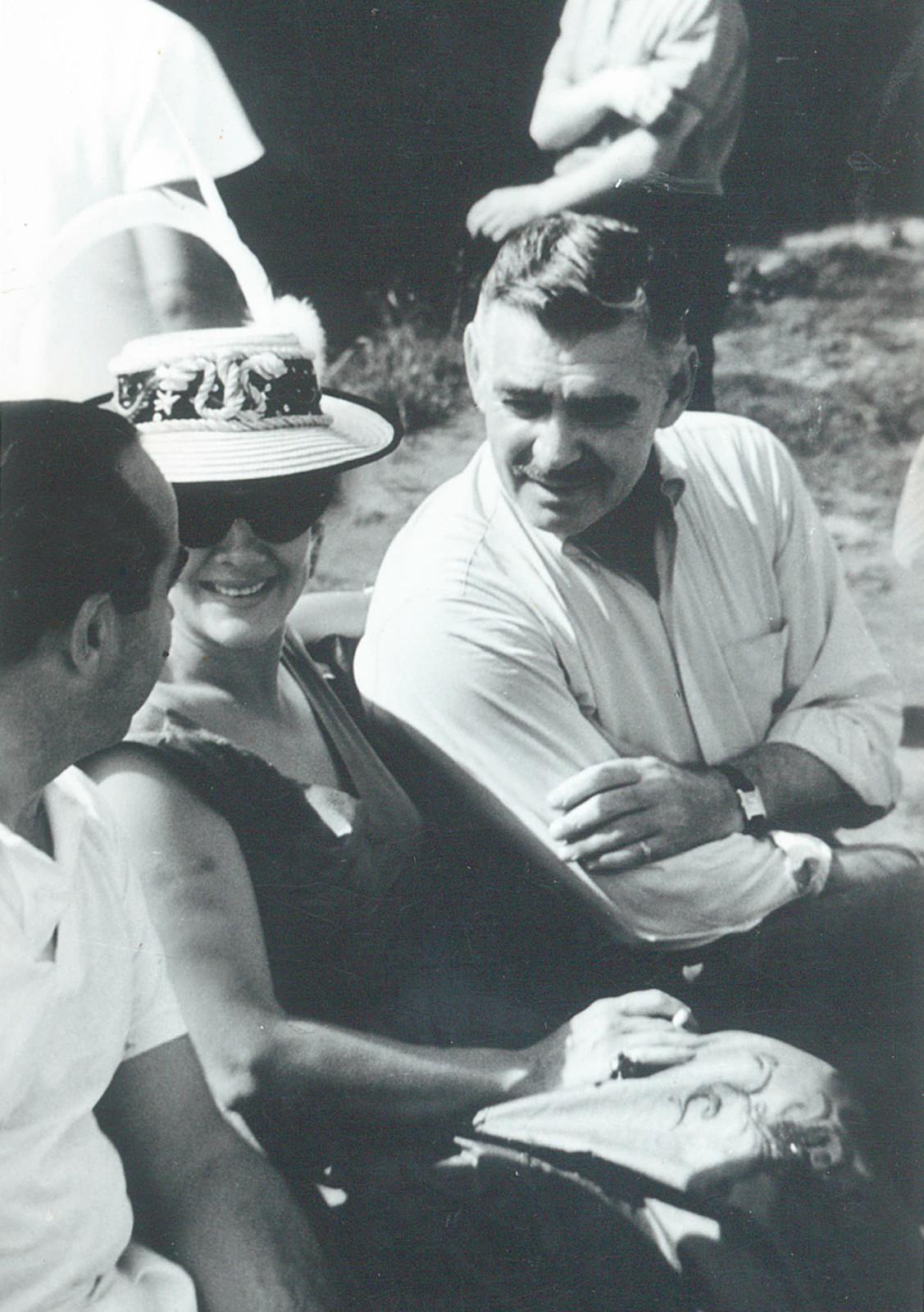 Clark Gable in bester Gesellschaft