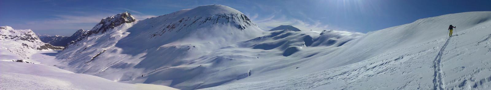 Winterlandschaft im SalzburgerLand.