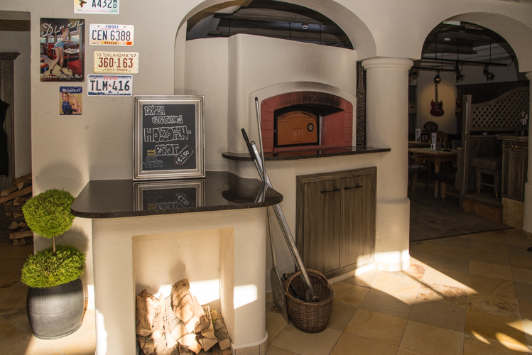 Frisches Brot wird direkt im Restaurant gebacken. Das duftet!