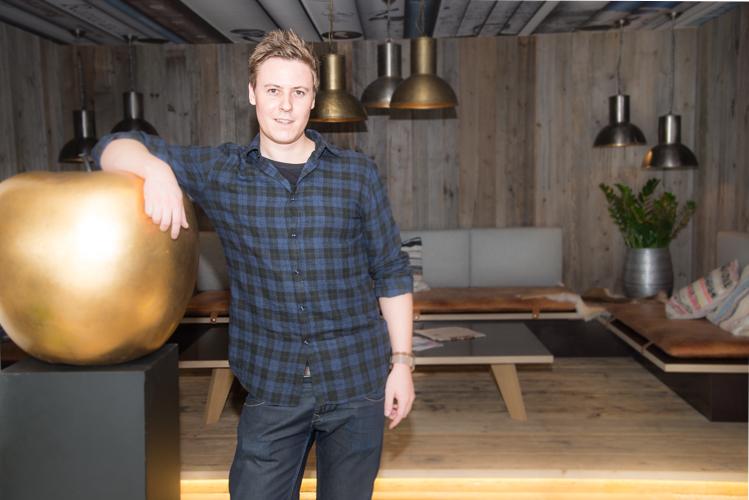 Thomas ,Thomsn' Schwabl ist das Mastermind hinter diesem neuen Hotelkonzept und schwingt selbst den Kochlöffel im Á la Carte-Restaurant.