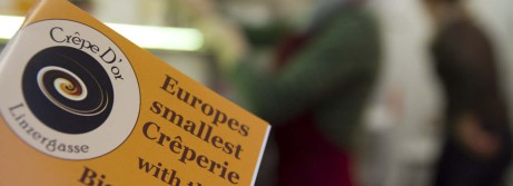 Europas kleinste Crêperie