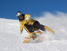 Snowbike (18) carve kaprun
