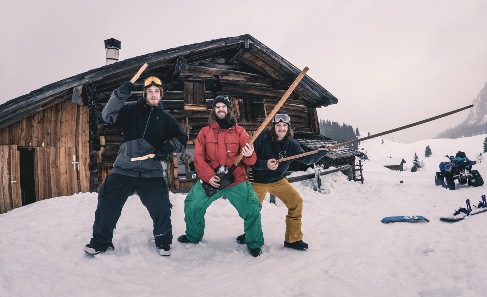 The Makemakes auf der Alm ©The Makemakes
