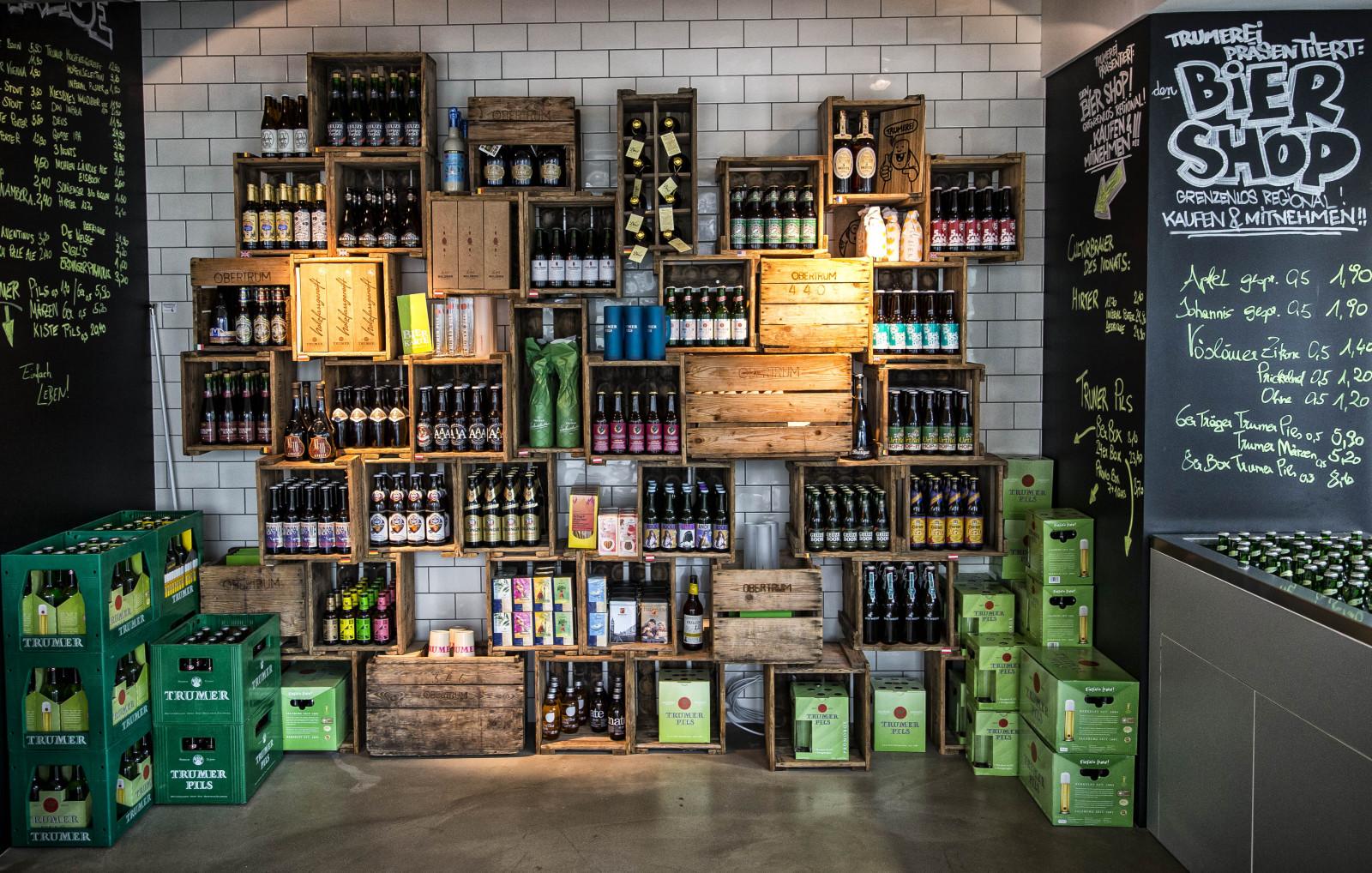 Der neue Biershop