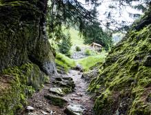 Der abenteuerliche Weg durch das Obersulzbachtal führt in mehreren Etappen zum Ziel.