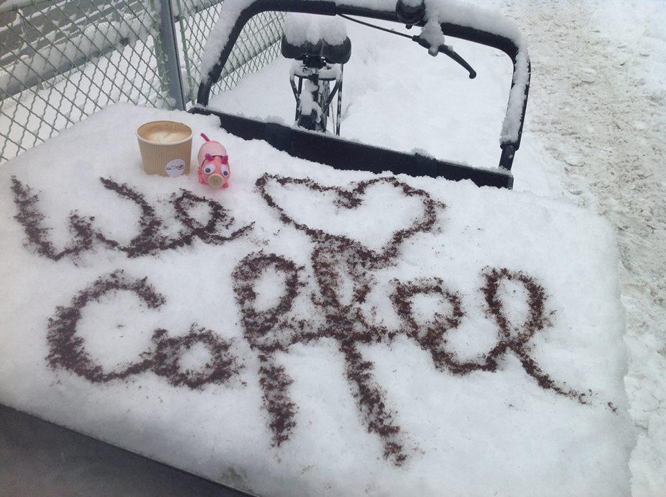 Auch im Winter gibt`s besten Kaffeegenuss 2 go