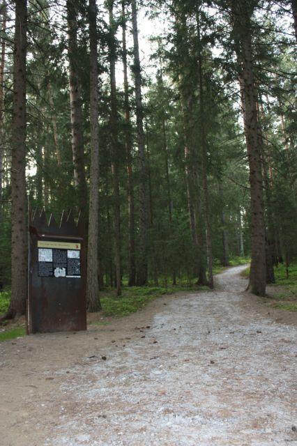 Auf einer Länge von drei Kilometern bewegt man sich hier von einer Station zur nächsten ©TVB Tamsweg