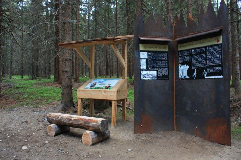 Der Themenweg Passeggen entführt die Besucher in eine schaurige Zeit ©TVB Tamsweg