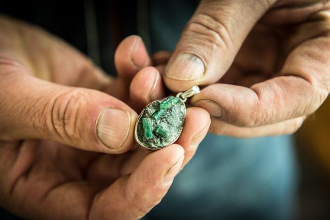 Mineralien Steine Steiner Bramberg Smaragde