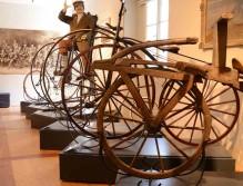 Alte Räder aus Holz