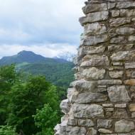 Wunderschöner Ausblick von der Ruine aus