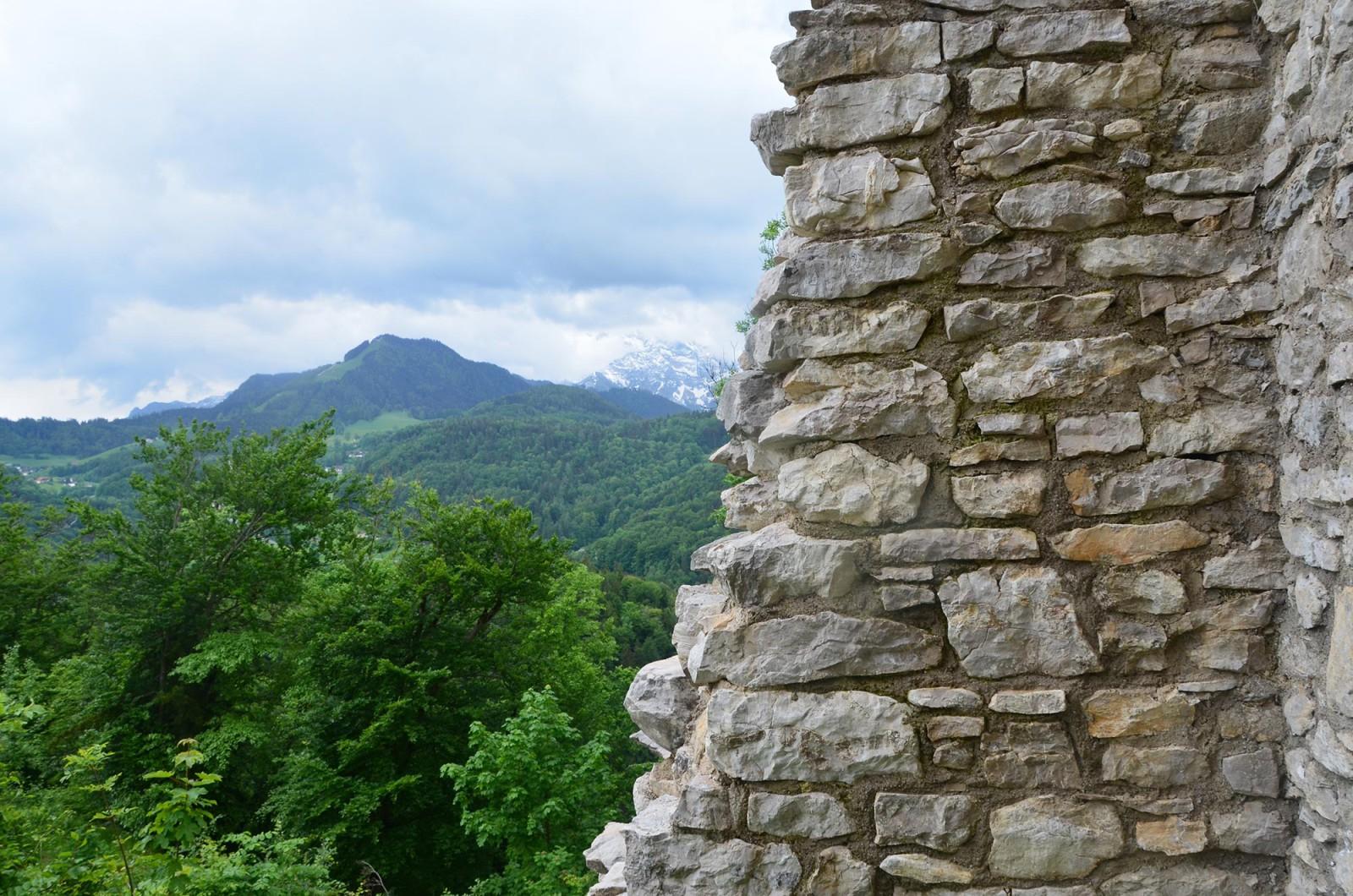 Aussicht von der Ruine Thürndl
