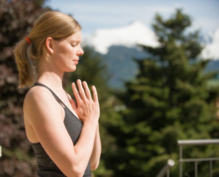 """""""Die Berge atmen"""" bei den Yogatagen Gastein"""