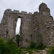 Die mächtige Ruine Thürndl