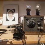 Detektorempfänger inkl. Kopfhörer