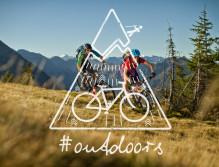 Mountainbiker auf Tour - P‰rchen