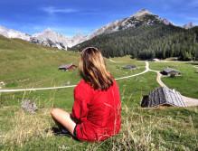 Mal wieder die Seele baumeln lassen - in der Bergwelt des SalzburgerLandes kein Problem ©TVB Salzburger Saalachtal