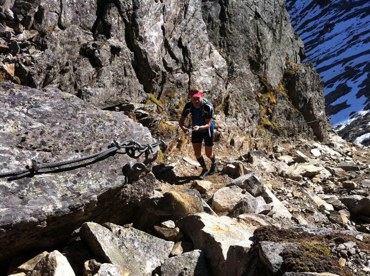 Christian Krump ist ein leidenschaftlicher Sportler aus dem Lungau. Er liebt im Winter das Skitourengehen und