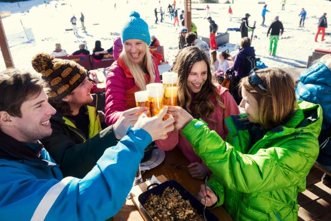 Auf`s Skifahren!