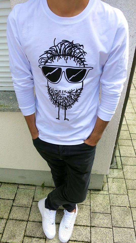Beard for him