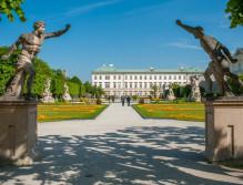 Der Mirabellgarten und Schloss Mirabell ©Tourismus Salzburg
