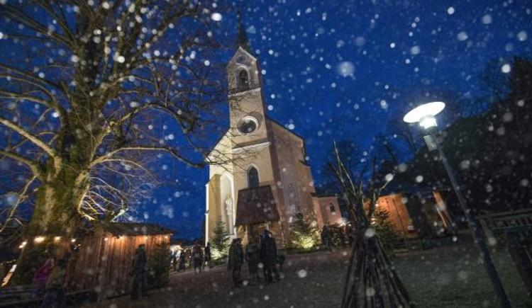 Das Guggenthaler Kircherl im Schnee