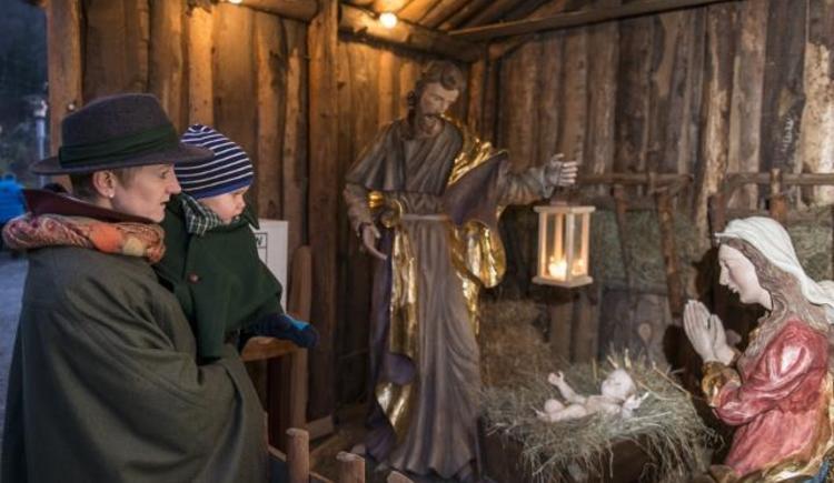 Besuch bei der Heiligen Familie