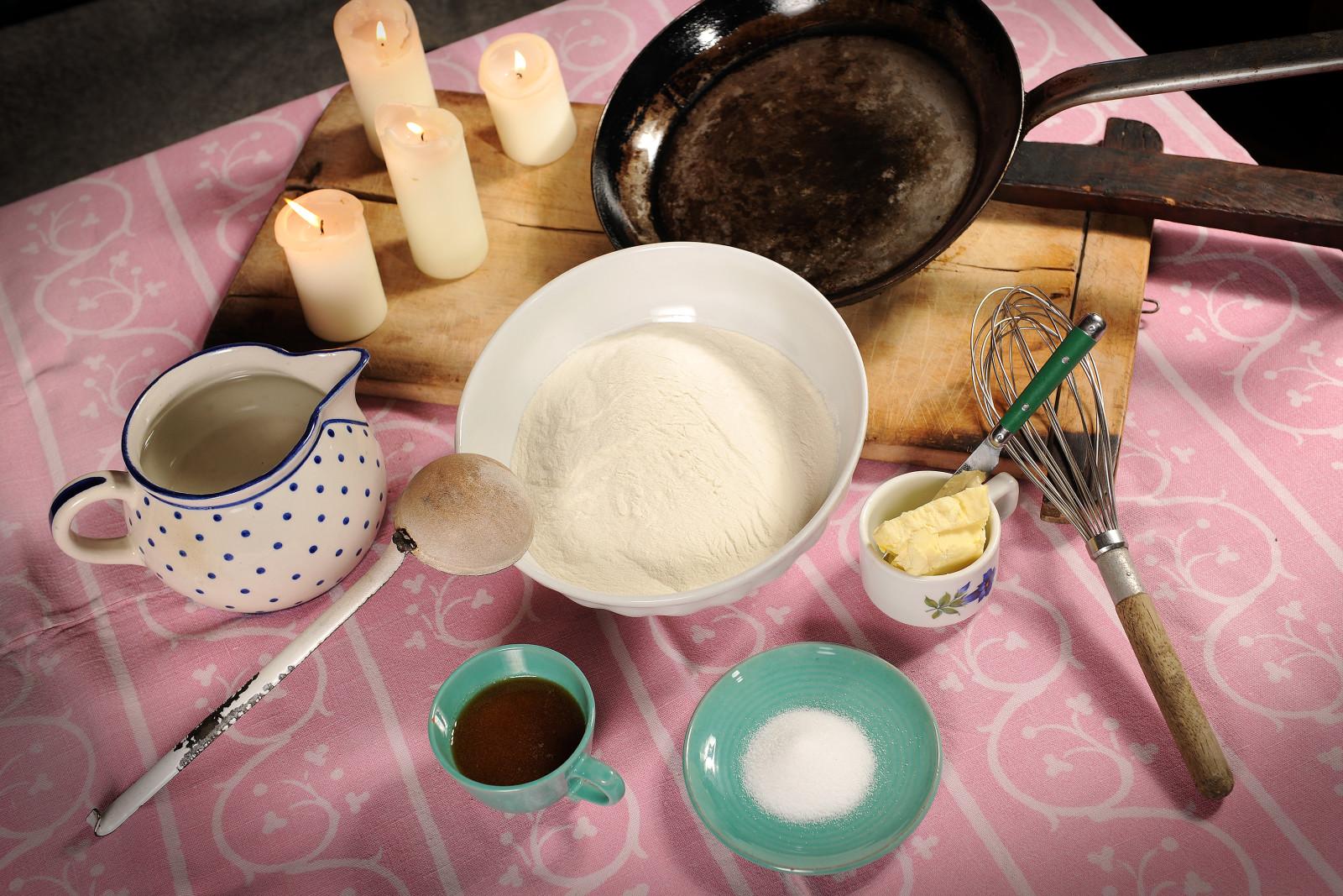 Die Zutaten fürs traditionelle Bachlkoch. c Foto Bauer