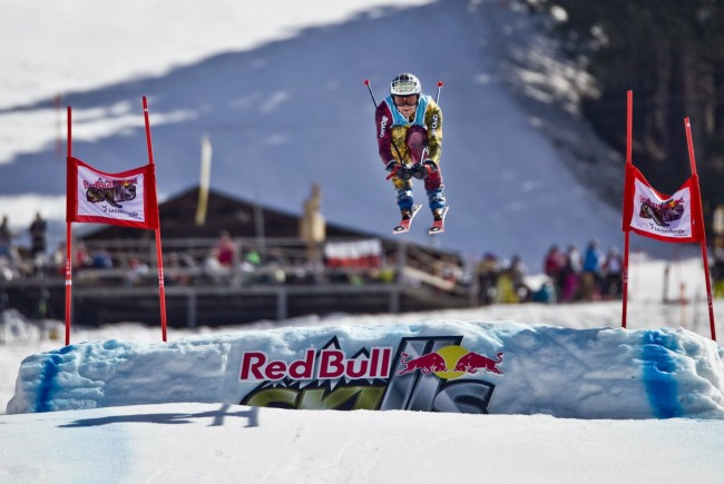Pavel Trcala beim Red Bull Skills, Lenzerheide © Dean TremlRed Bull Content Pool