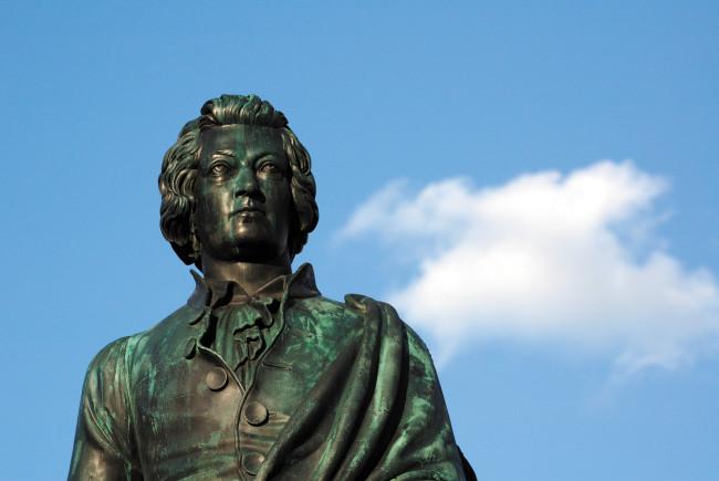 Mozart Denkmal am Mozartplatz ©Tourismus Salzburg