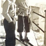 Wintersportler am Sonnblick im Jahr 1939