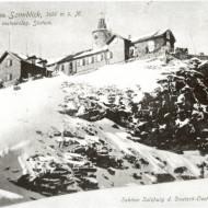 Die Sonnblick Wetterwarte im Jahr 1911.
