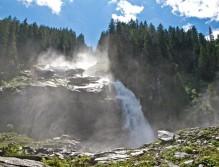 Imposante Wasserfälle
