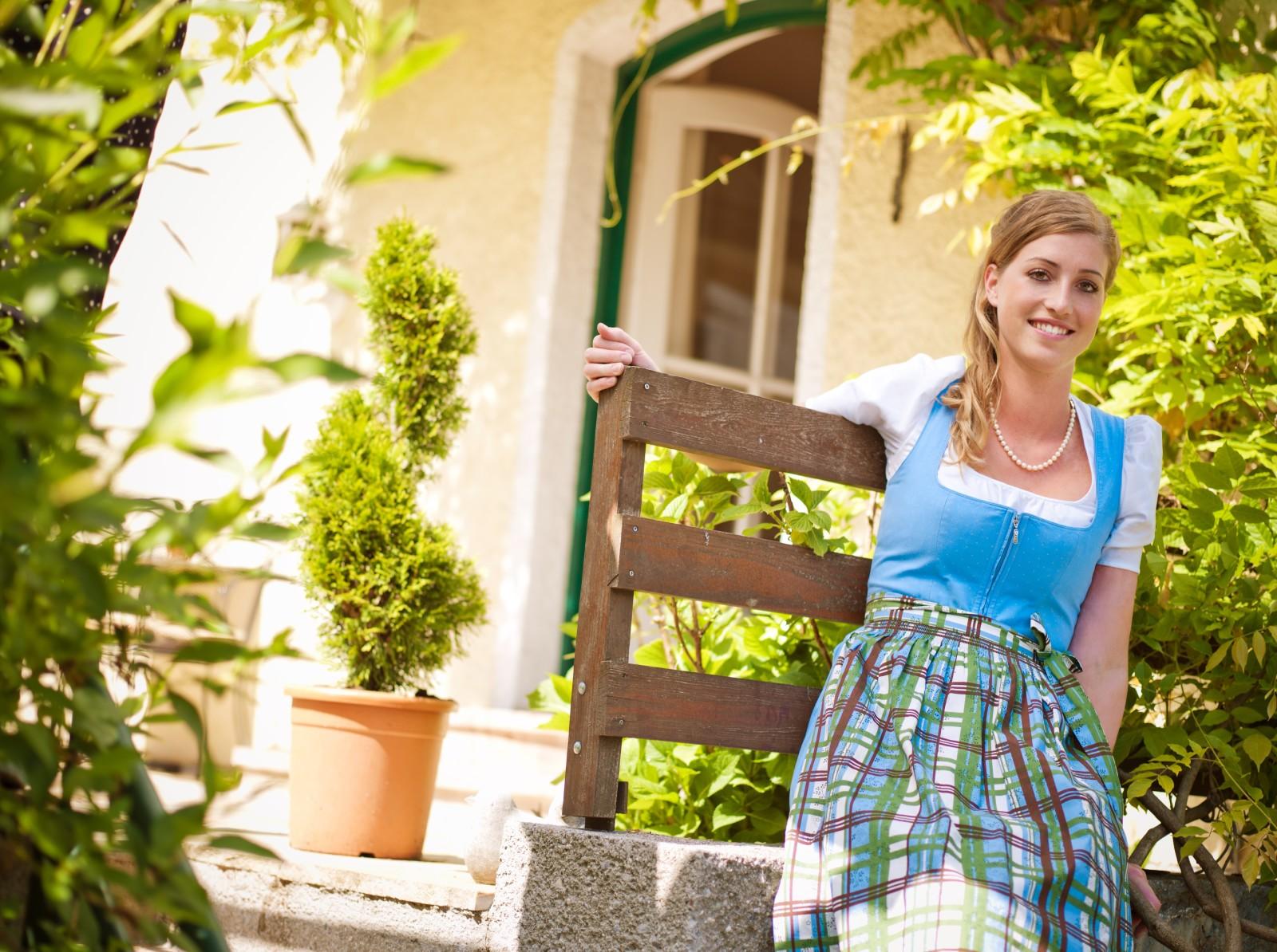 Die Chefin Stefanie Fleischhacker. © Hotel Rosenvilla
