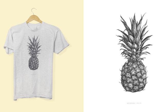Ein Fruchtgenuss der Extraklasse: Ananas-Shirt von Kookaburra, Hans-Christian Kogler