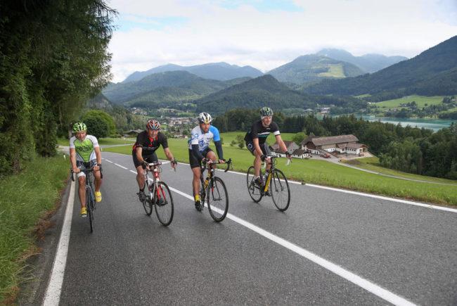Teilnehmer der Eddy Merckx Classic