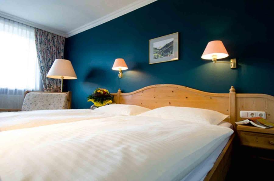 Gemütliche Betten laden zum Krafttanken ein
