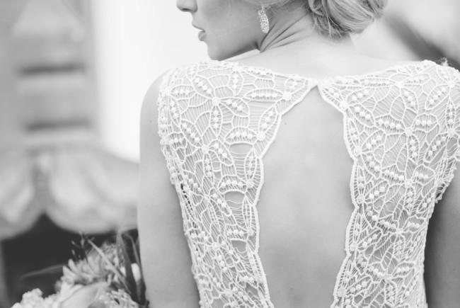 """Brautkleid """"Free and Wild"""" aus reinem Seidenchiffon und Macramespitze für das Oberteil. Label: DAS Kleid ©  Marlene Scheiber"""