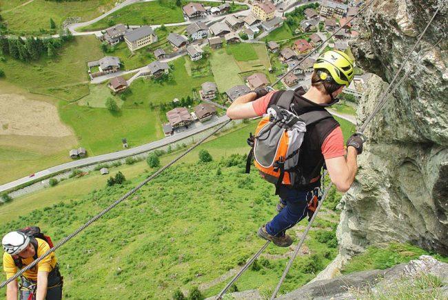 Klettersteig Hüttschlag